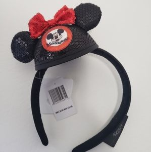 Mickey Mouse Club Mouseketeer Hat Headband Sequin